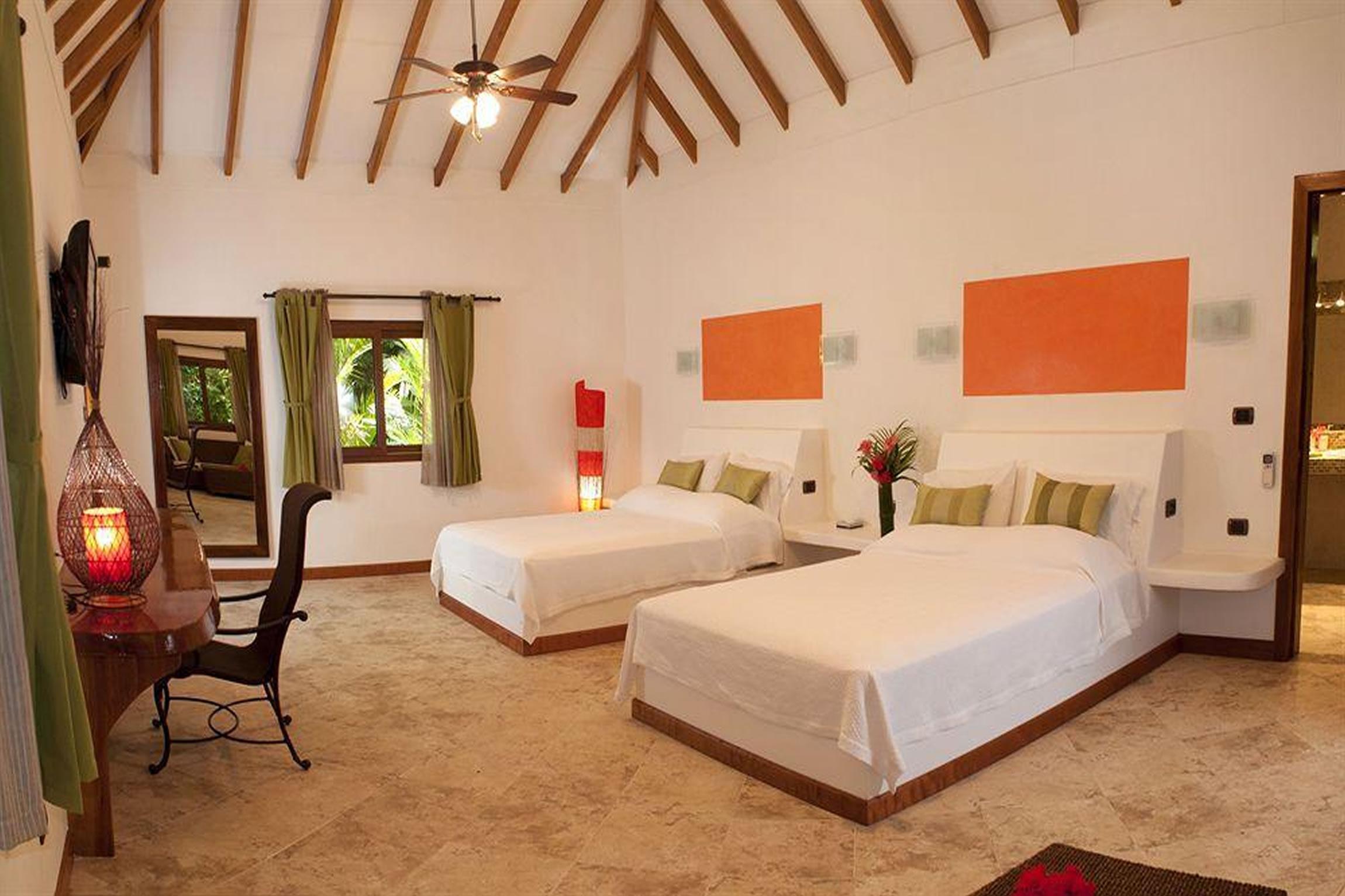 Costa-Rica-Holiday-Tours-Cariblue-Beach-Jungle-Resort-Interior-Room