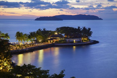 Borneo-Tailormade-Tours-Shangri-La-Tanjung-Aru-Resort_Sunset