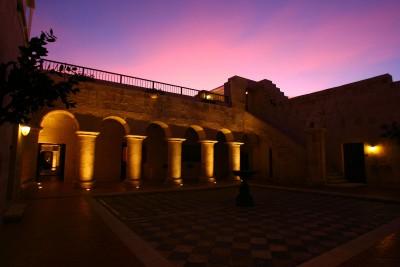 Peru-Tailormade-Tours-Casa-Andina-Arequipa_Sunset