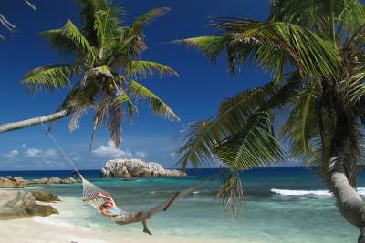 Seychelles-Holiday-Tours-Cousine-Island-Resort_Beach-Hamock_