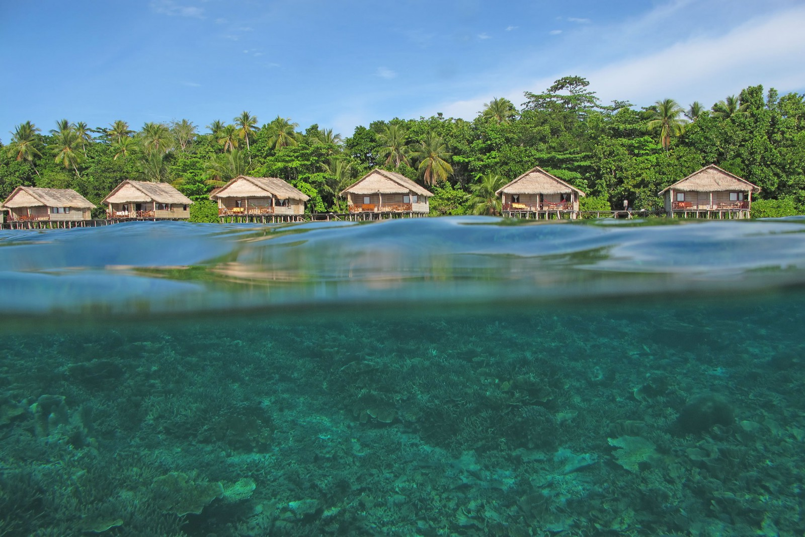 Indonesia Tailor Made Holidays Papua Paradise Resort Water Bungalows X