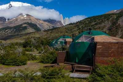 chile-wildlife-tours_accommodation_ecocamp-patagonia-suite-dome-exterior-1