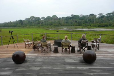 Congo-Wildlife-Tours_Accommodation_Lango--Camp-deck-view